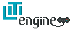 LITIengine logo with border