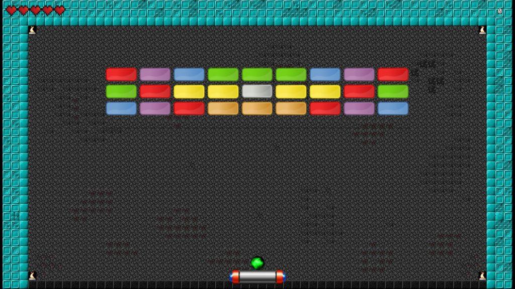 Screenshot LITIENGINE Arkanoid Clone