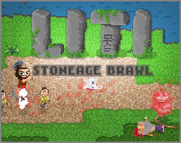 LITI Stoneage Brawl Title